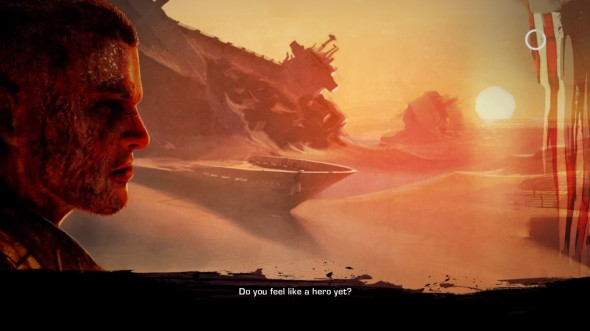 This is one of the most unnerving loading screens in any video game I've played.