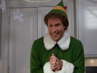 """Buddy the Elf what's your favorite color?"" . . . I couldn't resist."