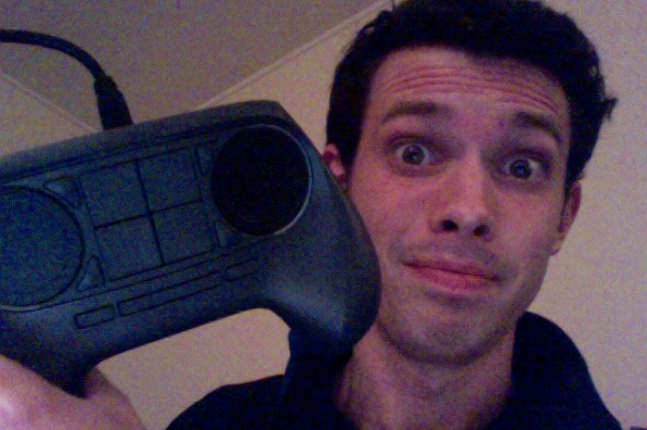 Controller selfie!... Dang, that's a new low for me.