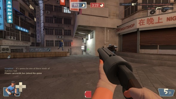 I will honestly probably always be coming back to Team Fortress 2. It's gaming comfort food to me.