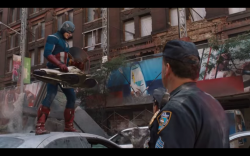 Captain America: the First Responder